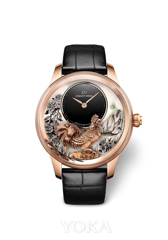Jaquet Droz year of Chicken wrist watch image source: http://www.yoka.com/dna/m/d387860