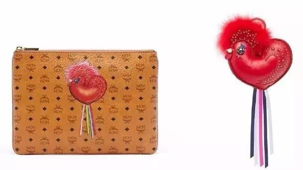 MCM year of Chicken pouch image source: http://fashion.sina.com.cn/s/in/2016-12-09/0745/doc-ifxypipu7335566.shtml