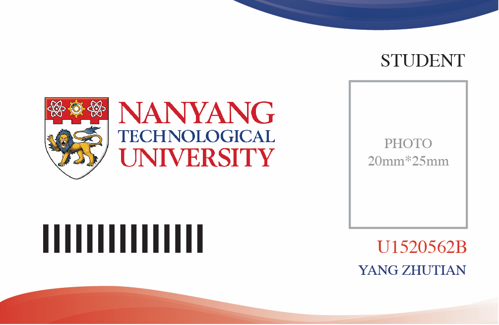 NTU Student Card Design U2013 NTU Accelerator