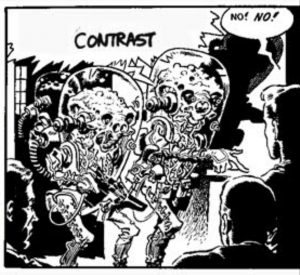 Contrast in Wally Wood's 22 Panels
