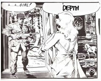 Depth in Wally Wood's 22 Panels
