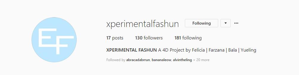 Experimental Fashun