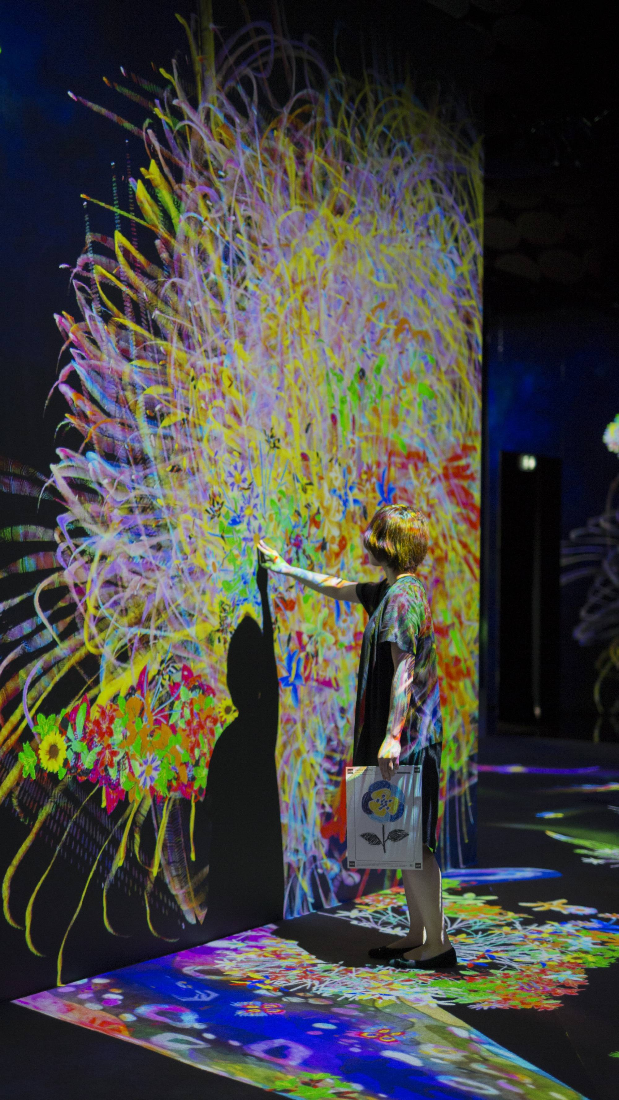 [Artwork selection] Teamlab: Graffiti Nature – Lost, Immersed and Reborn