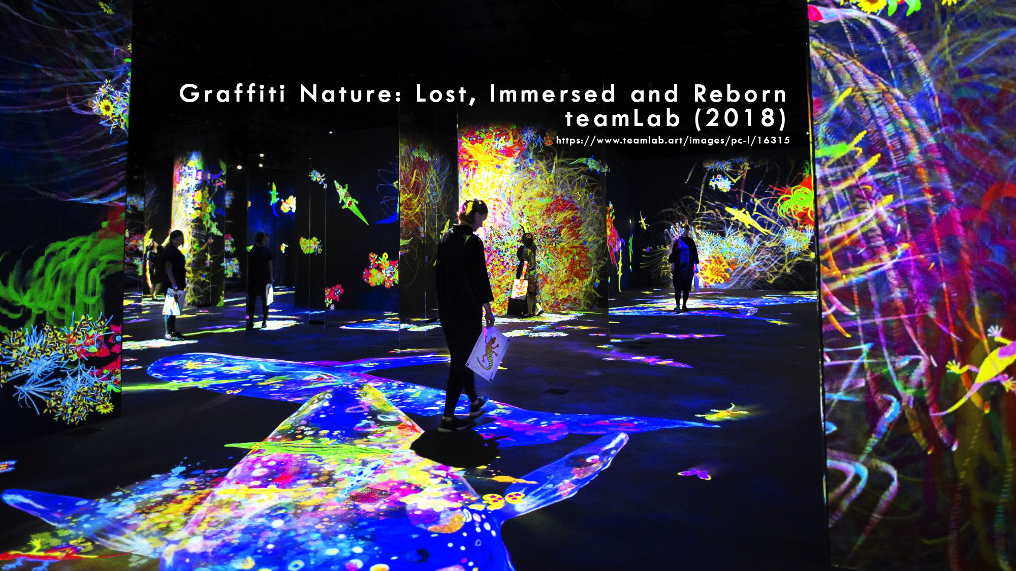 [Final Hyperessay] teamLab – Graffiti Nature: Lost, Immersed and Reborn (2018)